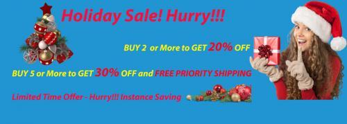Nanoluxe Holiday Season-sale